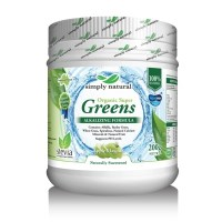 Simply Natural Organic Super Greens + Apple - 200g